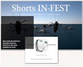 Melanie Belmonte | Jurado Oficial Festival Cine Shorts In-Fest