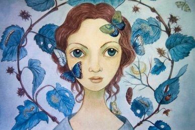 Mujeres 4 | Autora • Isabel Ruiz Ruiz | Mecenas • Melanie Belmonte