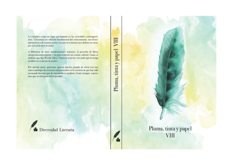 ANTOLOGÍA PLUMA, TINTA Y PAPEL VIII | VENENO Autora: Melanie Belmonte