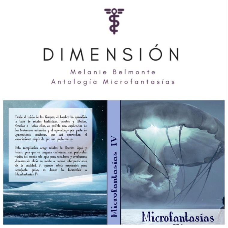 'Dimensión' de Melanie Belmonte en Antología 'Microfantasías'.