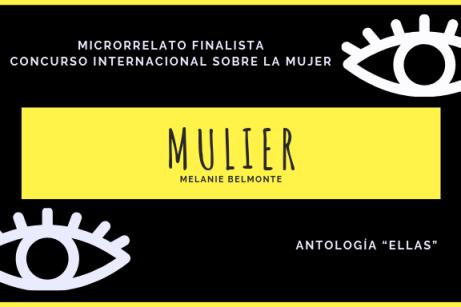 'Mulier' | Finalista del Concurso Internacional de Microrrelatos 'Ellas' .'Mulier' | Finalista del Concurso Internacional de Microrrelatos 'Ellas' .